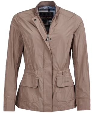 Women's Barbour Dockray Casual Jacket - Soft Gold