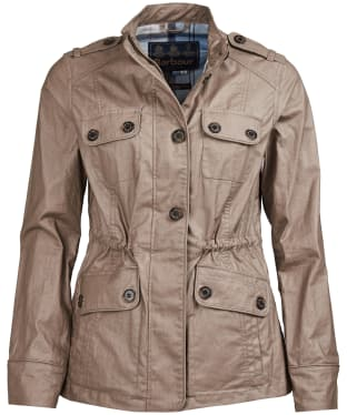 Women's Barbour Southsider Casual Jacket - Soft Gold