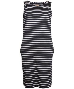 Women's Barbour Dalmore Dress - Navy / White