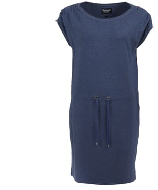 Women's Barbour International Sprinter Dress - Denim Blue