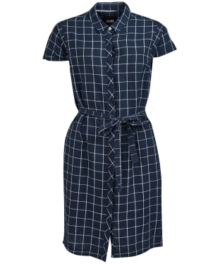 Women's Barbour Lorne Dress - Navy / White