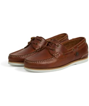 Women's Barbour Bowline Boat Shoes - Cognac