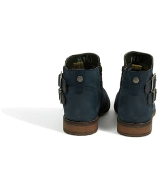 Women's Barbour Sarah Low Buckle Boots - Steel Blue