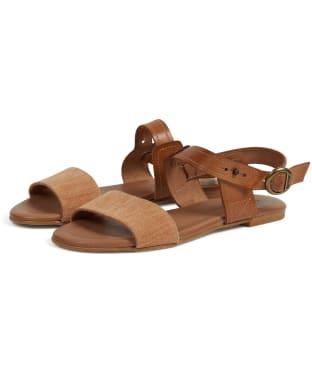 Women's Barbour Sandwood Sandals - Tan
