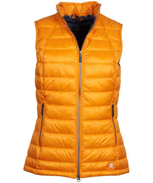 Women's Barbour Deerness Gilet - Marigold