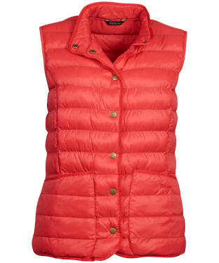Women's Barbour Carlton Gilet - Pomegranate