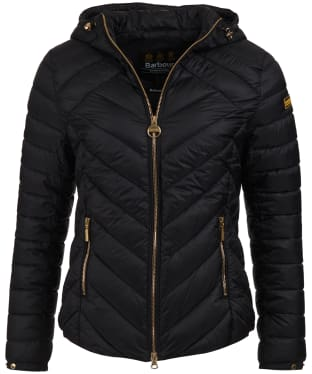 Women's Barbour International Durant Quilted Jacket - Black