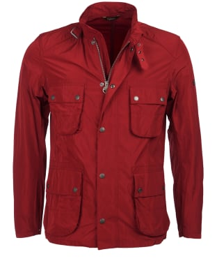 Men's Barbour International Weir Casual Jacket - Biking Red