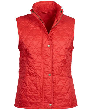 Women's Barbour Summer Liddesdale Gilet - Pomegranate