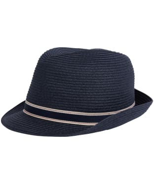 Women's Barbour Lagoon Trilby Hat - Navy