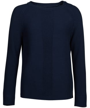 Women's Barbour Carisbrooke Knitted Sweater - Navy