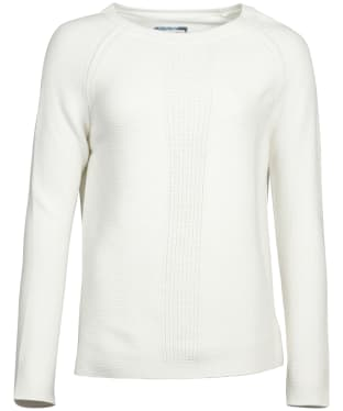 Women's Barbour Carisbrooke Knitted Sweater - Off White