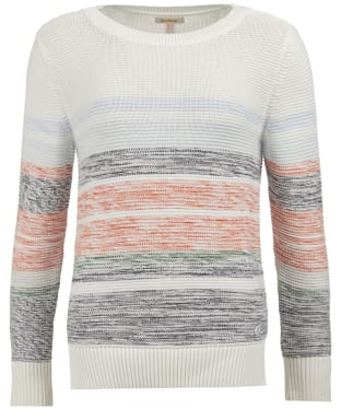 Women's Barbour Littlehampton Knitted Sweater - Off White