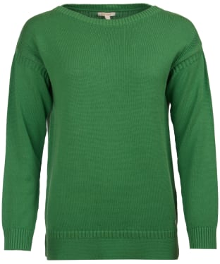 Women's Barbour Sailboat Knitted Sweater - Clover