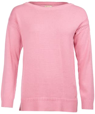 Women's Barbour Sailboat Knitted Sweater - Rose
