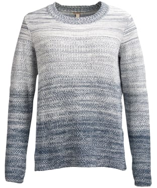 Women's Barbour Damselfly Knitted Sweater - Blue Heaven