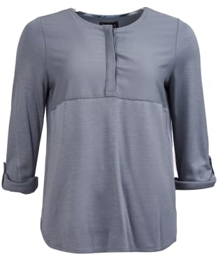 Women's Barbour Carron Top - Mercury Grey