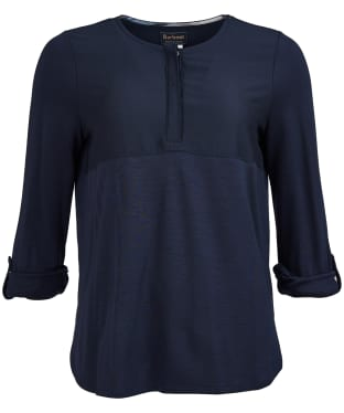 Women's Barbour Carron Top - Navy