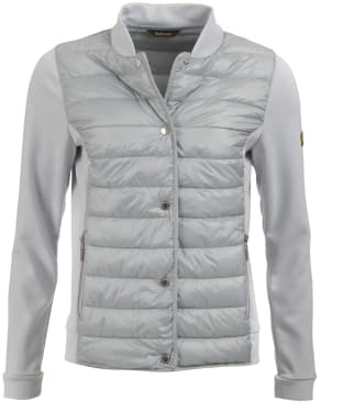 Women's Barbour International Hurdle Sweater Jacket