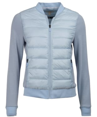 Women's Barbour Port Sweater - Powder Blue
