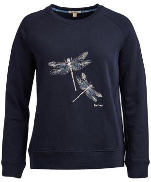 Women's Barbour Quarry Sweatshirt - Navy