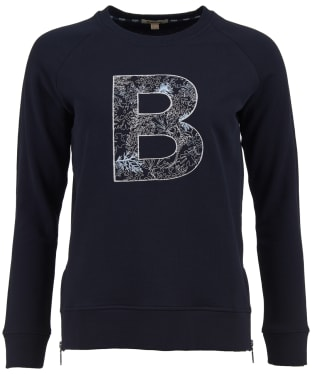 Women's Barbour Backshore Sweatshirt - Navy