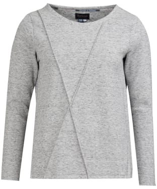 Women's Barbour Highland Sweatshirt - Grey Marl