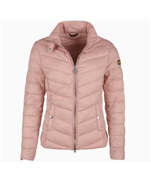 Women's Barbour International Aubern Quilted Jacket - Nude