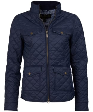 Women's Barbour Liberty Ashlynn Quilted Jacket - Navy