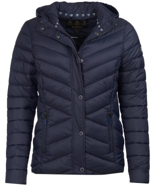 Women's Barbour Isobath Quilted Jacket - Navy