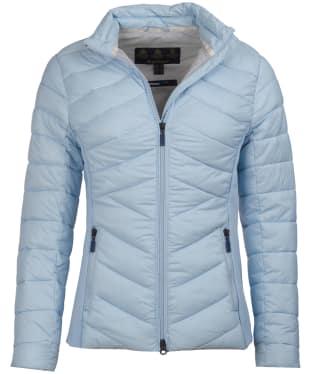 Women's Barbour Longshore Quilted Jacket - Powder Blue