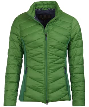 Women's Barbour Longshore Quilted Jacket - Clover