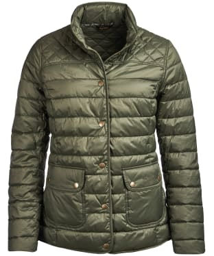 Women's Barbour Coledale Quilted Jacket - Olive