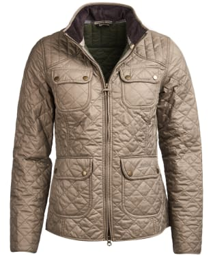 Women's Barbour Bowfell Quilted Jacket - Taupe