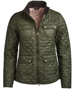 Women's Barbour Bowfell Quilted Jacket - Olive
