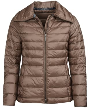 Women's Barbour Drovers Quilted Jacket - Soft Gold