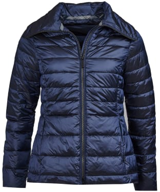 Women's Barbour Drovers Quilted Jacket - Royal Navy