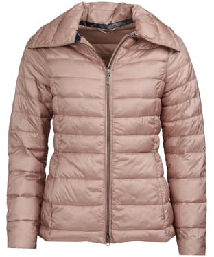 Women's Barbour Drovers Quilted Jacket - Pale Pink