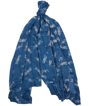 Women's Barbour Dragonfly Wrap - Blue Heaven