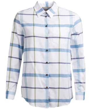 Women's Barbour Oxer Shirt - Blue Heaven Check