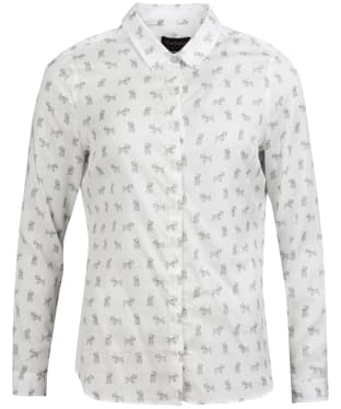 Women's Barbour Greyfriars Shirt - White