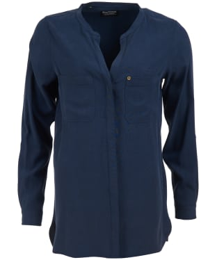 Women's Barbour International Dunsfold Shirt - Royal Navy