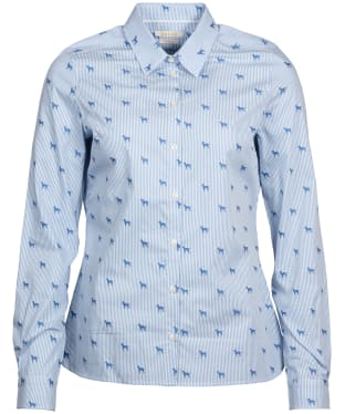 Women's Barbour Hampton Shirt - Pale Blue
