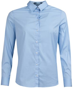 Women's Barbour Malvern Shirt - Pale Blue