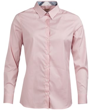 Women's Barbour Malvern Shirt - Pale Pink