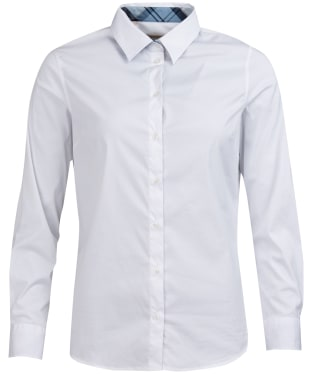 Women's Barbour Malvern Shirt - White