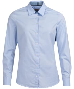 Women's Barbour Portsdown Shirt - Pale Blue