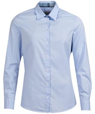 Women's Barbour Portsdown Shirt - Pale Blue