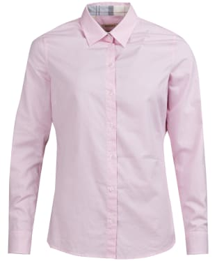 Women's Barbour Portsdown Shirt - Pale Pink