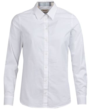 Women's Barbour Portsdown Shirt - White